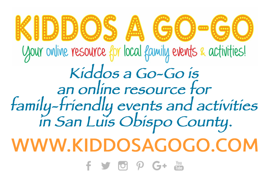 Kiddos a Go-Go boasts the most comprehensive calendar for children's activities on the Central Coast.