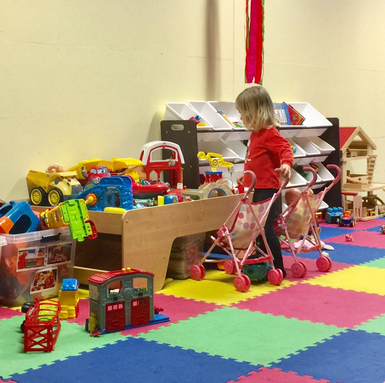 Toy Room at the Come Play space at Life Community Church in Paso Robles