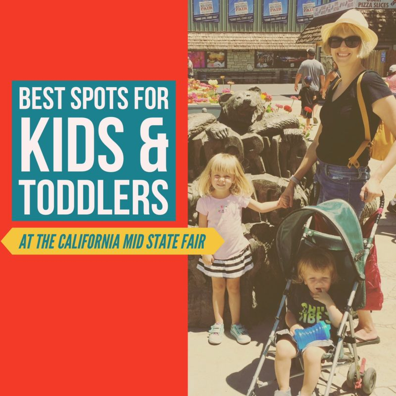 Best Spots for Kids & Toddlers at the California Mid State Fair, in Paso Robles California