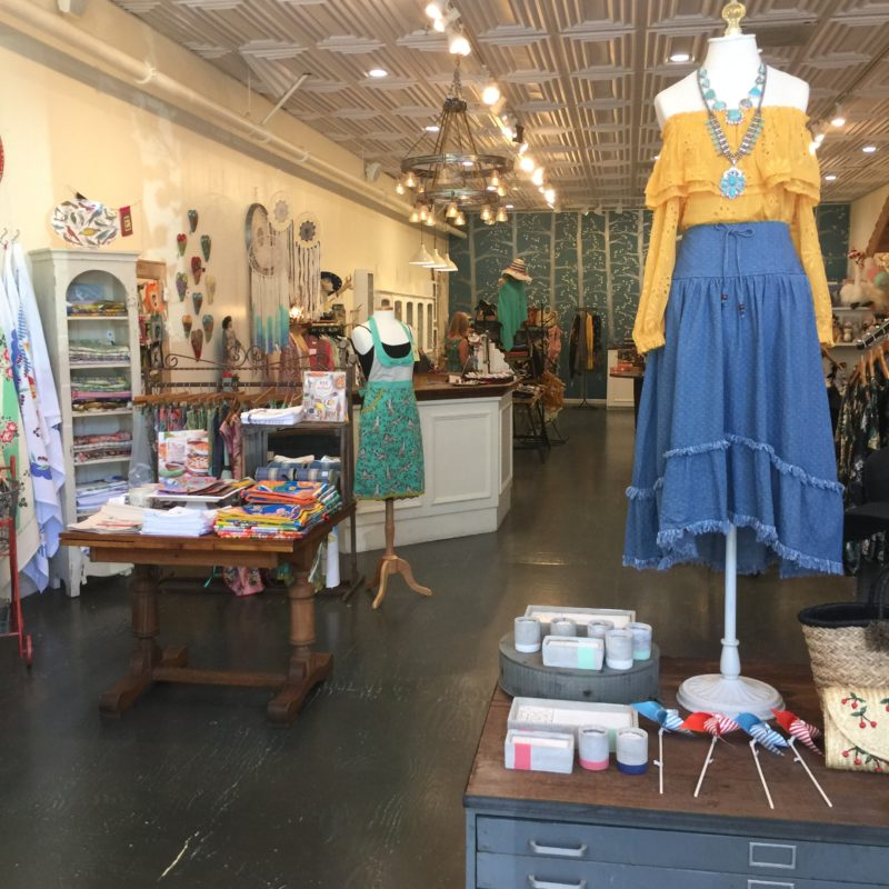 Inside Firefly Gallery in Paso Robles California