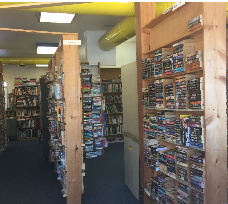Spare Time Used Books in downtown Paso Robles