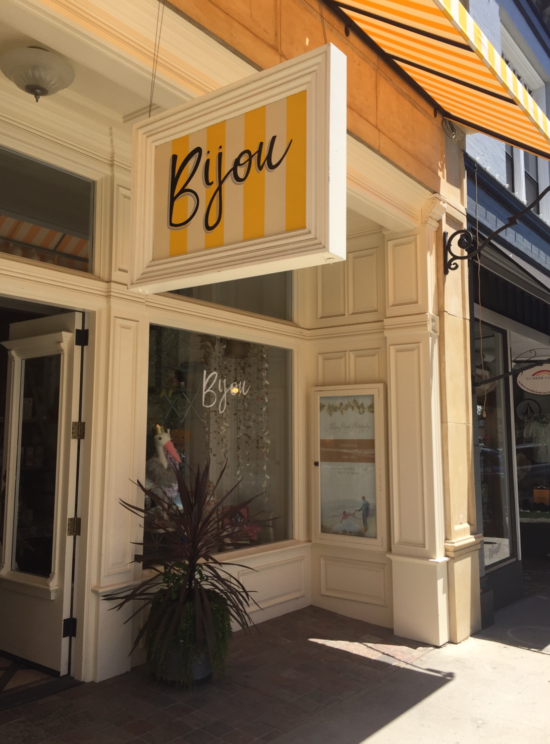 Bijou Storefront in Downtown Paso Robles