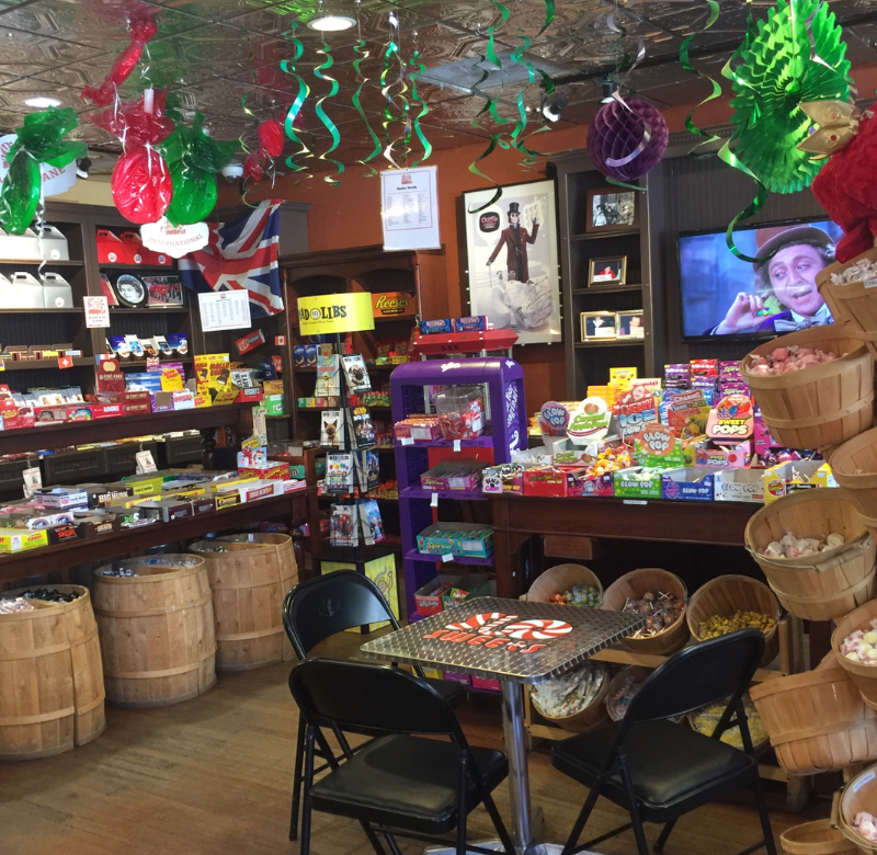 Interior of SLO Sweets in Paso Robles California