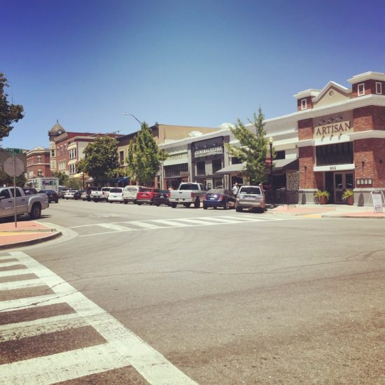 12th Street facing west in downtown Paso Robles California