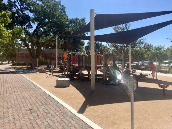 City Park playground in Downtown Paso Robles California