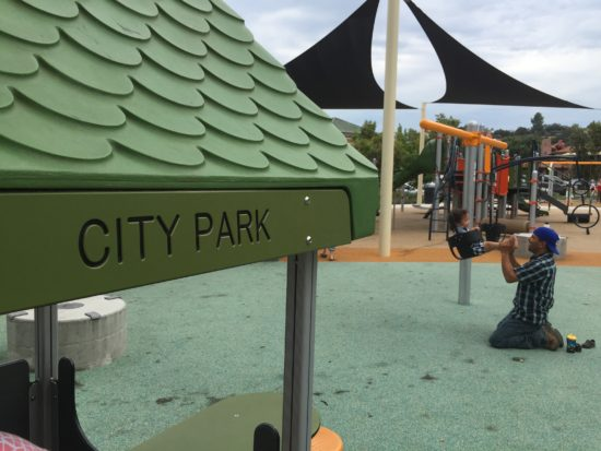 Paso Robles Downtown City Park playground intro