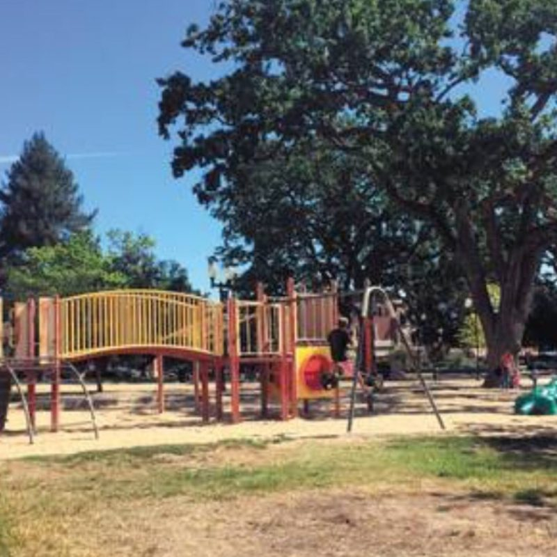 Screen shot of former Paso Robles Downtown City Park Playground