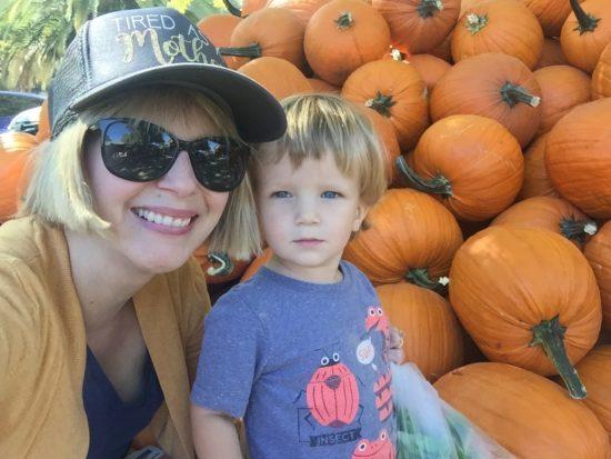 Avila Valley Barn Slo Pumpkin Patch baby