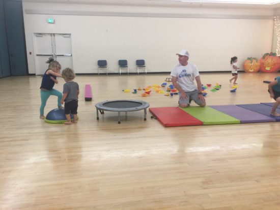 CaliKids Fitness class Paso Robles mats