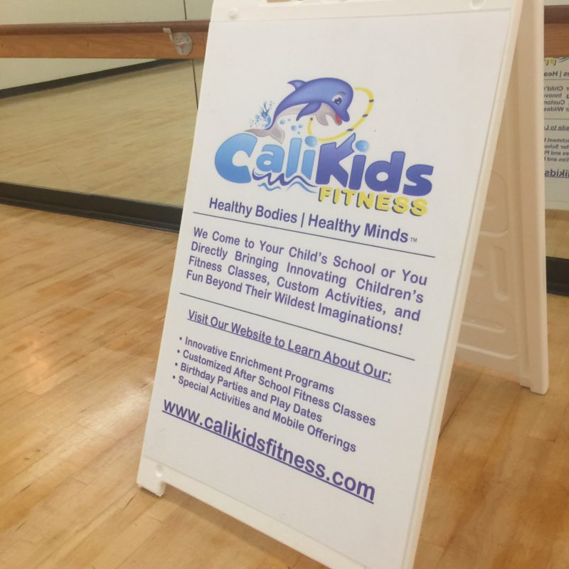 Calikids Fitness Class in Paso Robles