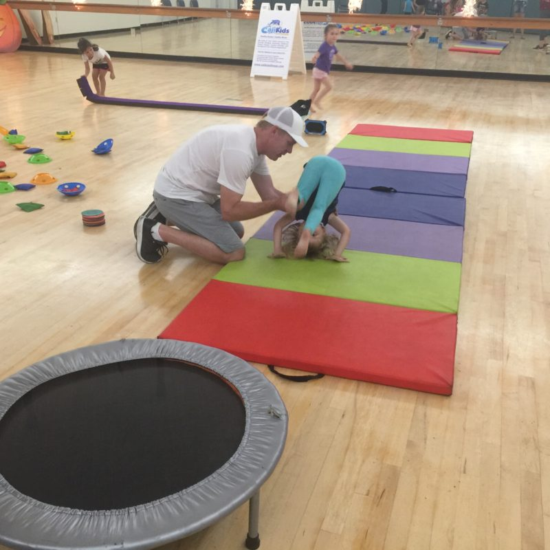 Calikids Fitness class Paso Robles tumbling