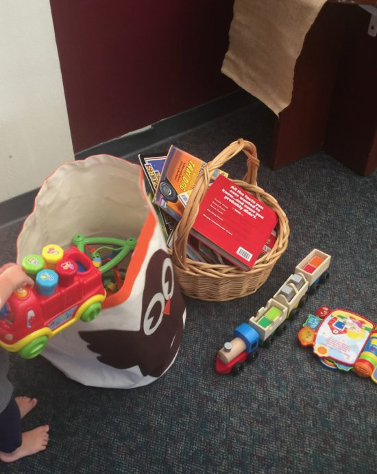 Paso Robles Recreation Services toy stash