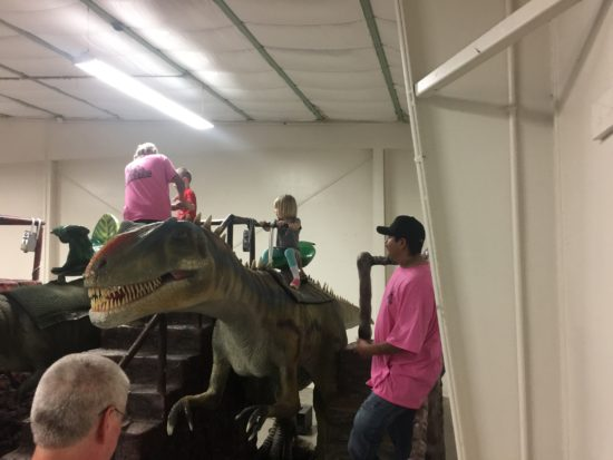 Jurassic Quest Paso Robles Stationary Dino Ride