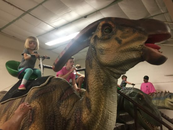 Jurassic Quest Paso Robles Stationary Dino Ride 2