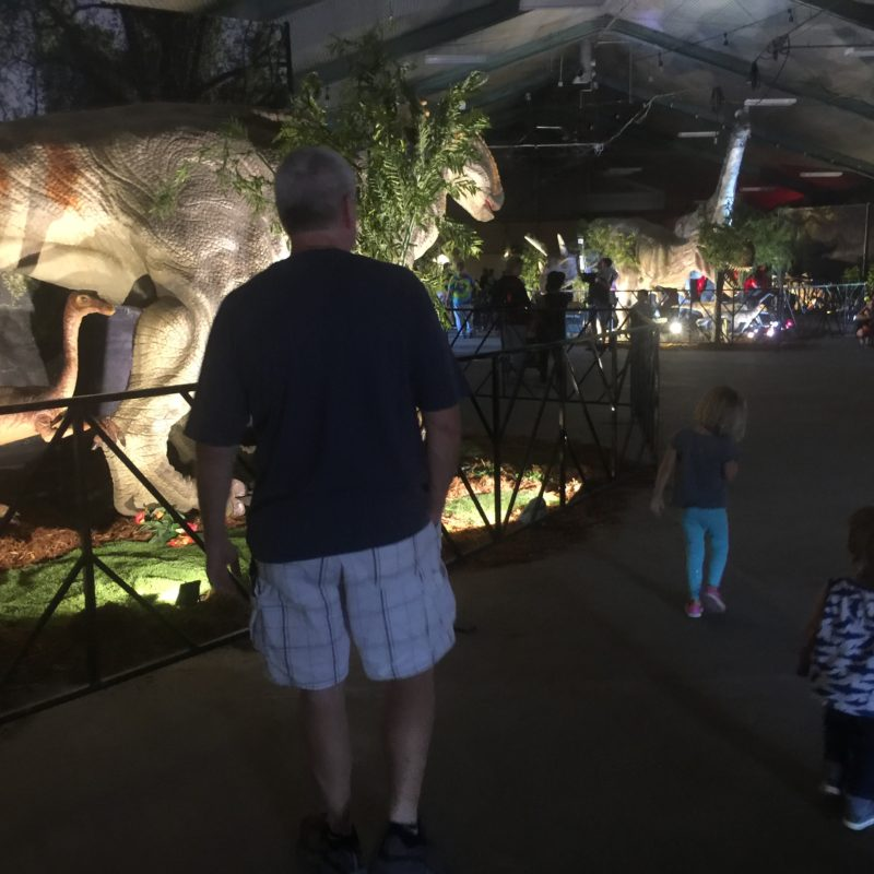 Jurassic Quest Paso Robles Dino Exhibit whole view
