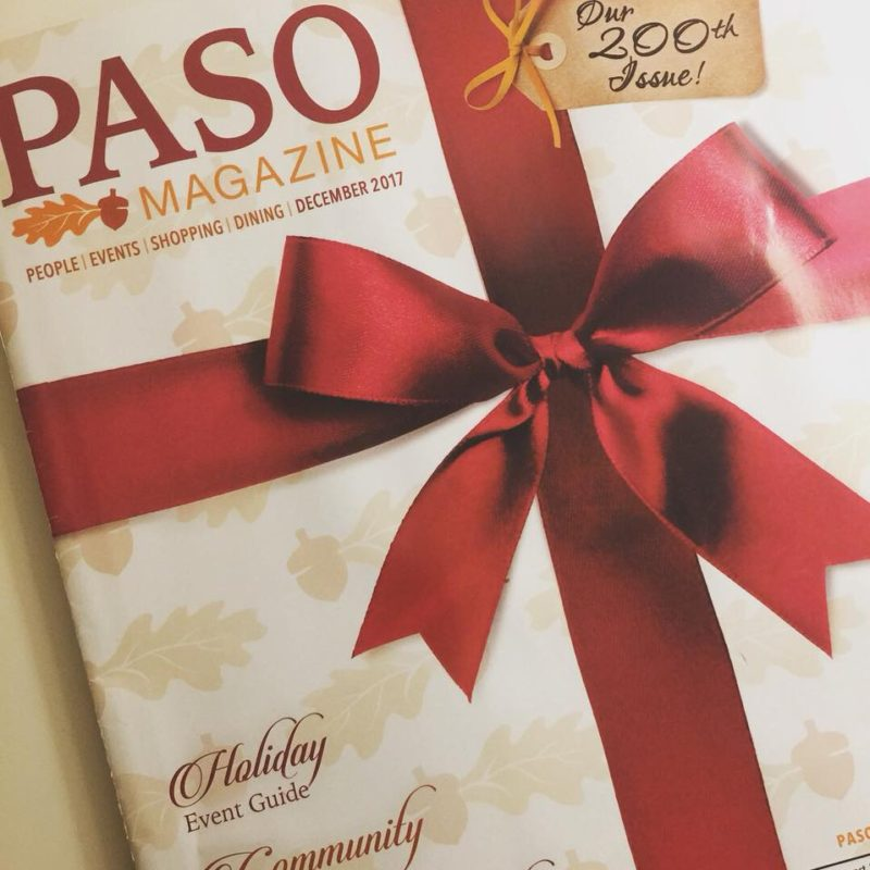 PASO Magazine December 2017 edition