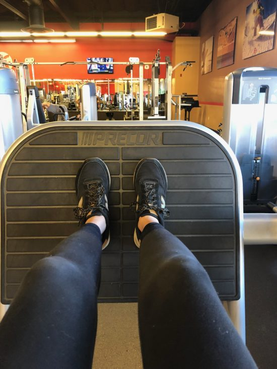 Atascadero Give Fitness with Two in Tow _ leg press