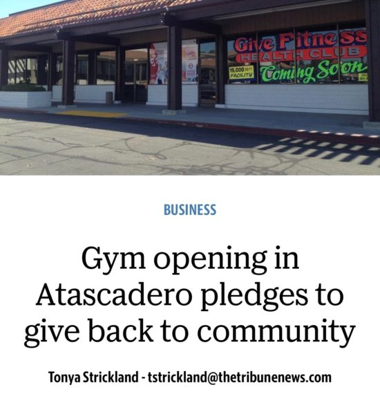 Atascadero Give Fitness with Two in Tow _ tribune