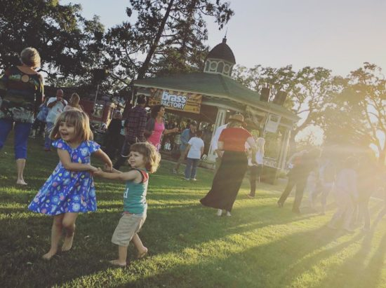 Taking kids to Paso Concerts in the Park