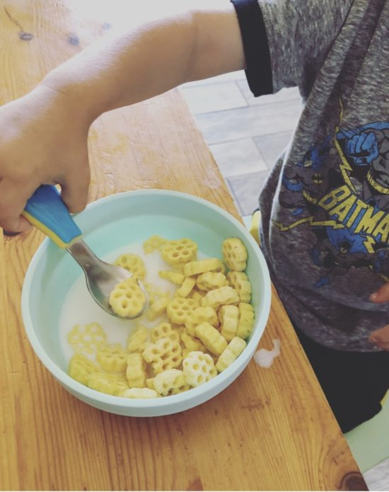Two In Tow & On The Go Review: Nuby Stainless Steel Feeding Utensils_4