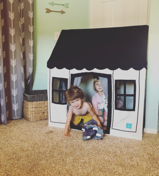Two In Tow & On The Go Review: Petite Maison kids tent playhouse_4