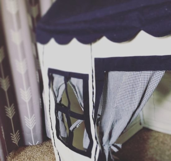 Two In Tow & On The Go Review: Petite Maison kids tent playhouse_7