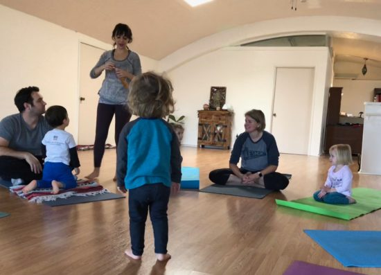 Two in Tow Review of Yaya Yoga ca Paso Robles kids yoga_16