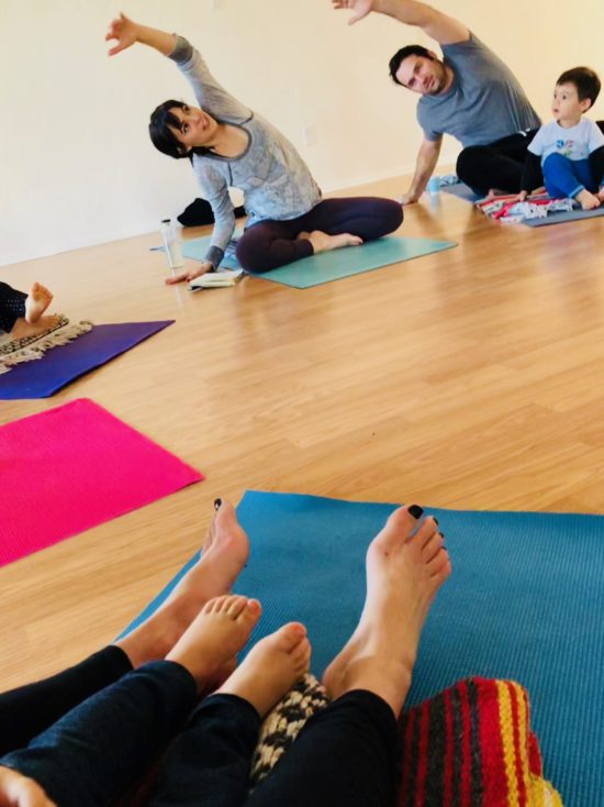 Two in Tow Review of Yaya Yoga ca Paso Robles kids yoga_intro