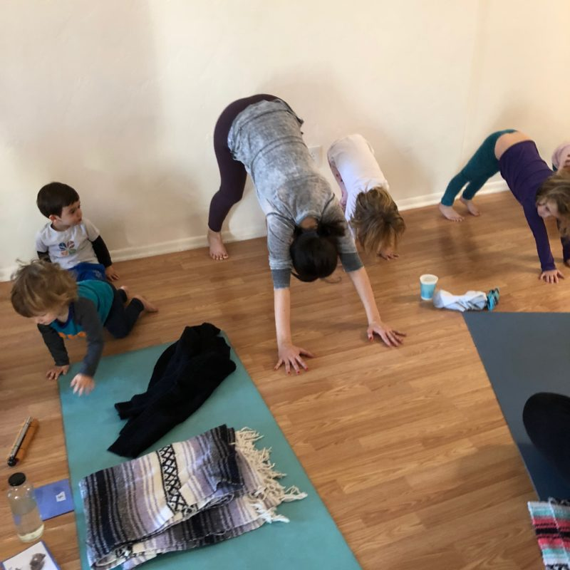 Two in Tow Review of Yaya Yoga ca Paso Robles kids yoga_4