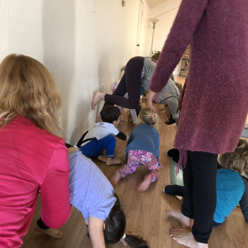 Two in Tow Review of Yaya Yoga ca Paso Robles kids yoga_10