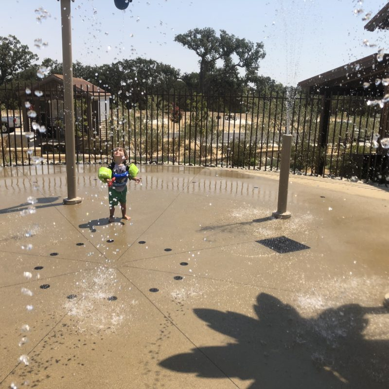 Cava Robles RV Resort in Paso Robles Review by Two In Tow And On The Go_Splash Pad 3