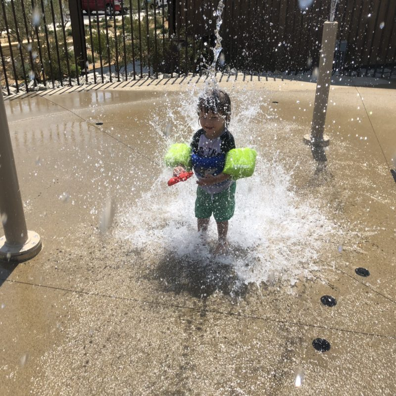 Cava Robles RV Resort in Paso Robles Review by Two In Tow And On The Go_Splash Pad 1