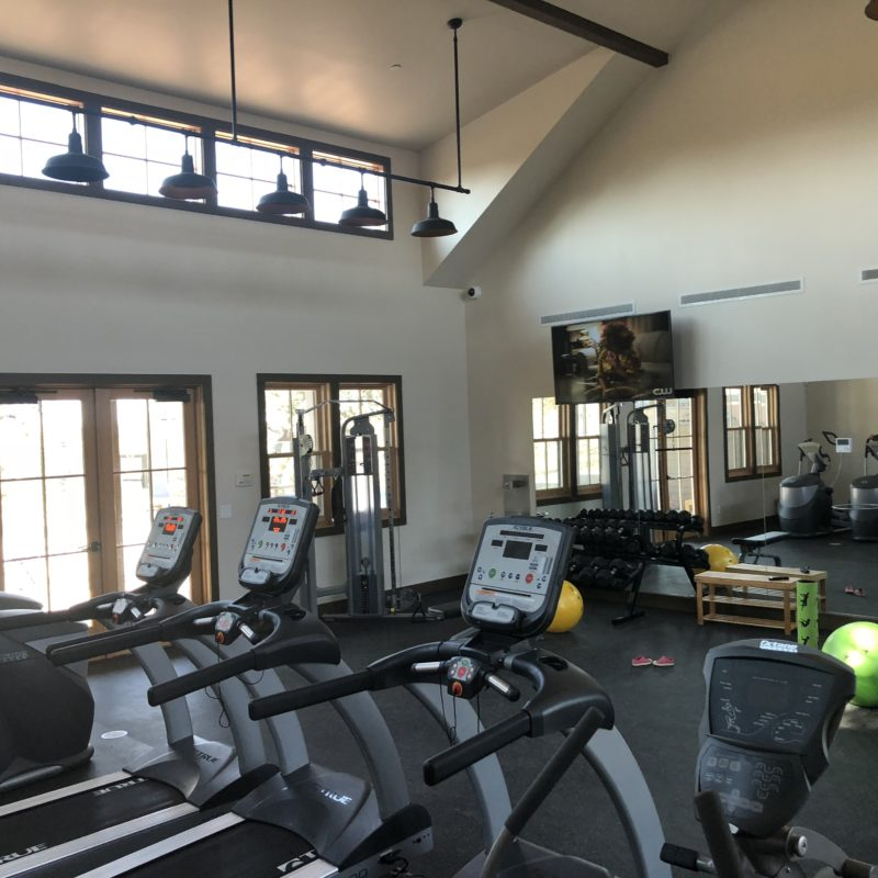 Cava Robles RV Resort in Paso Robles Review by Two In Tow And On The Go_gym