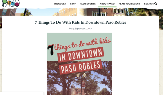 TravelPaso.com's feature of Two In Tow & On The Go's 7 Things To Do With Kids In Downtown Pa