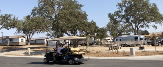 Cava Robles RV Resort in Paso Robles Review by Two In Tow And On The Go_Golf Cart Rental