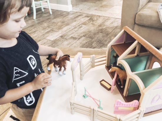 Toy Review: Lakeshore Learning Royal Kingdom Adventure Castle & Precious Ponies Playset_8