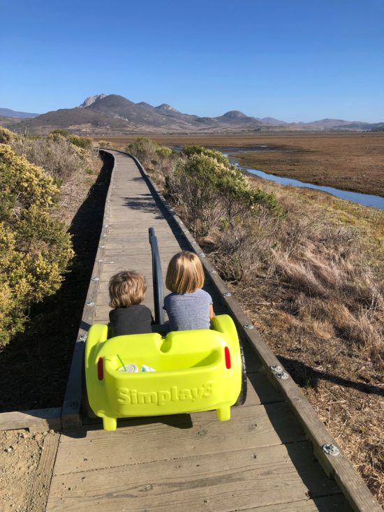 Review: Best Holiday Outdoor Gift for Adventure Kids. Simplay3's Trail Master 2-Seat Wagon_5
