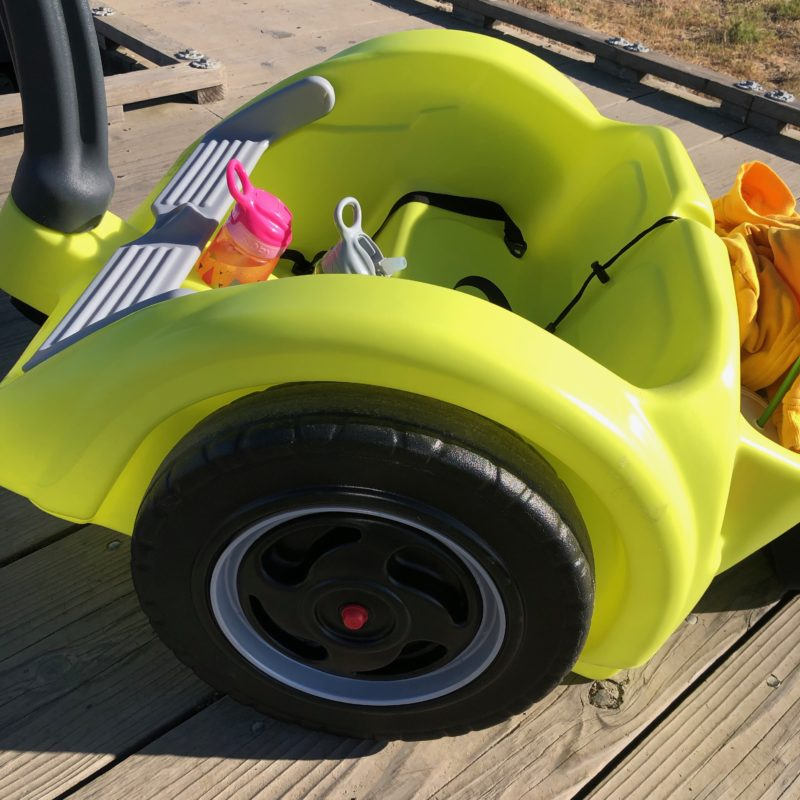 Review: Best Holiday Outdoor Gift for Adventure Kids. Simplay3's Trail Master 2-Seat Wagon_2