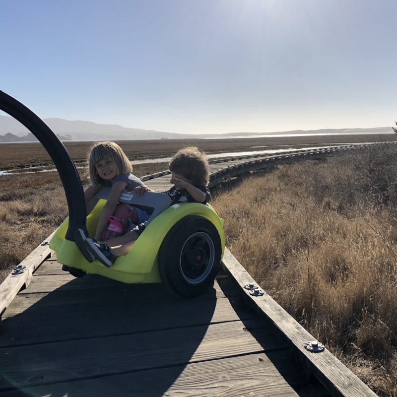 Review: Best Holiday Outdoor Gift for Adventure Kids. Simplay3's Trail Master 2-Seat Wagon_12