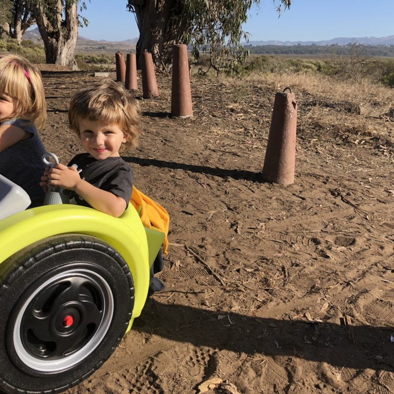 Review: Best Holiday Outdoor Gift for Adventure Kids. Simplay3's Trail Master 2-Seat Wagon_1