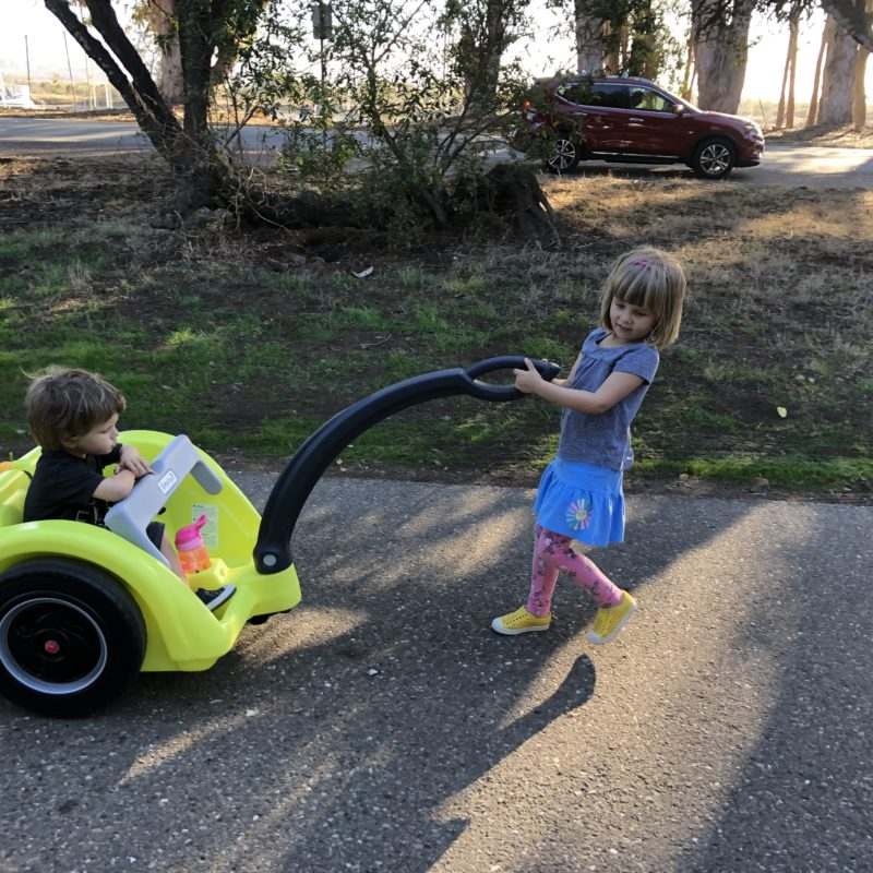 Review: Best Holiday Outdoor Gift for Adventure Kids. Simplay3's Trail Master 2-Seat Wagon_4