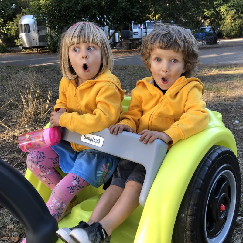 Review: Best Holiday Outdoor Gift for Adventure Kids. Simplay3's Trail Master 2-Seat Wagon_14