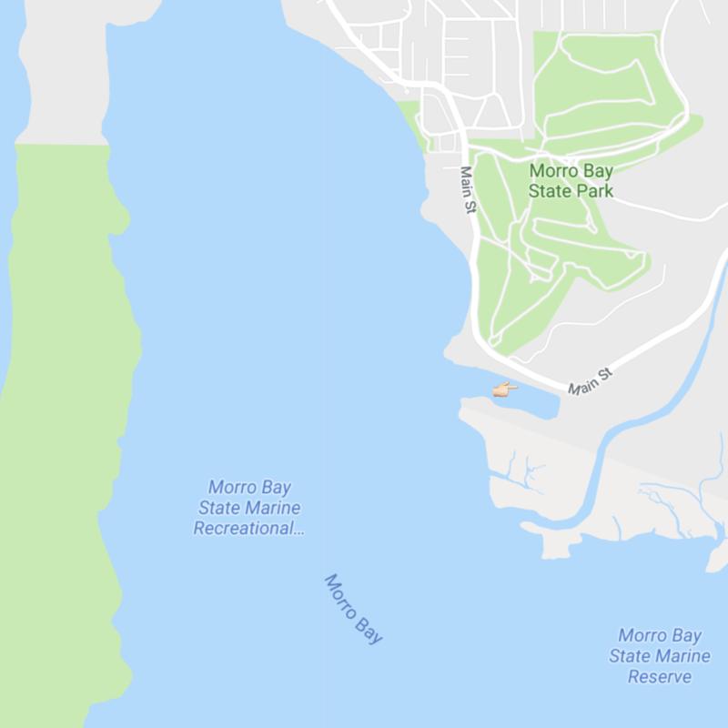 Morro Bay California map