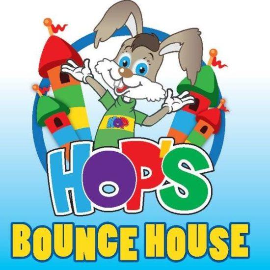 Hop's Bounce House Logo