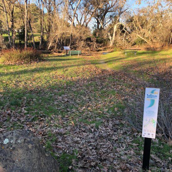 Salinas Riverwalk sign