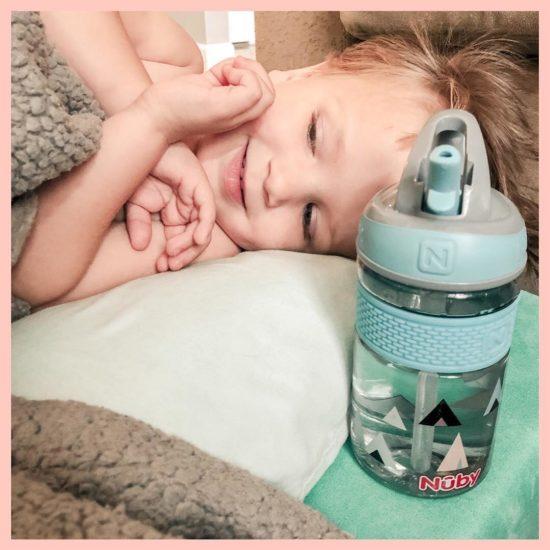 Nuby Thirsty Kids Flip-it Freestyle Water Bottle_1