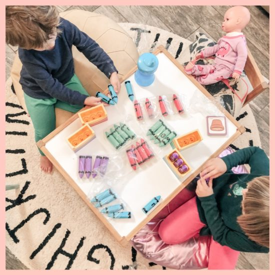 Lakeshore Learning Letter Crayons Word Building Center Review_1