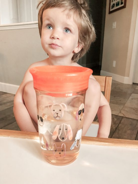 Nuby 360 Wonder Cup Review of plastic sippy