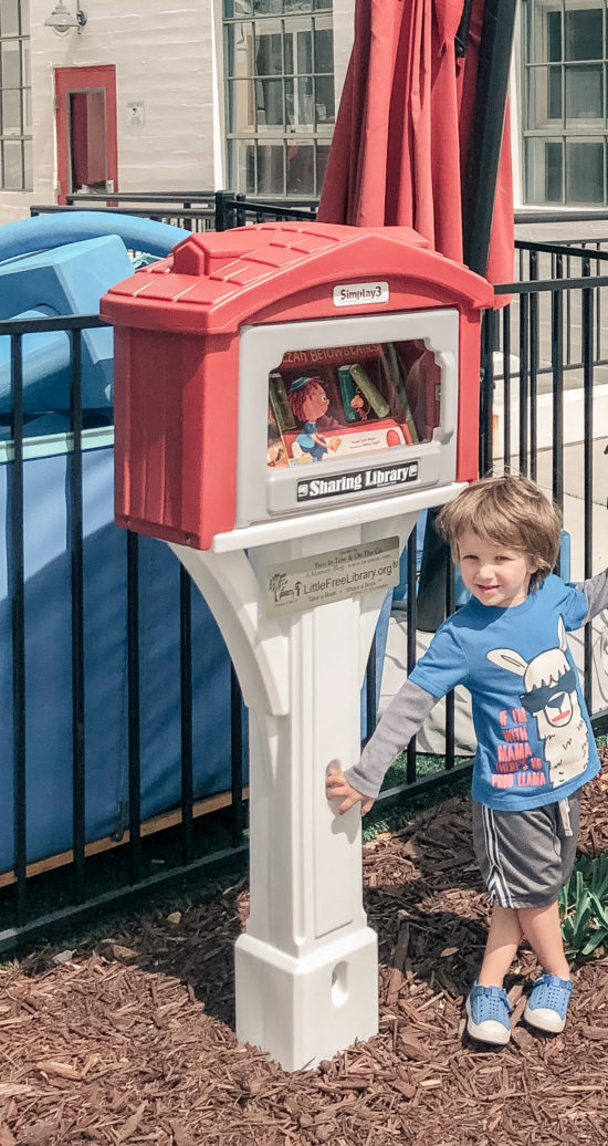 Simplay3's Little Free Library by Two In Tow & On The Go_9