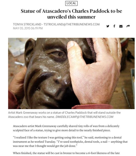 Atascadero Charles Paddock Zoo Tonya Strickland article charles paddock